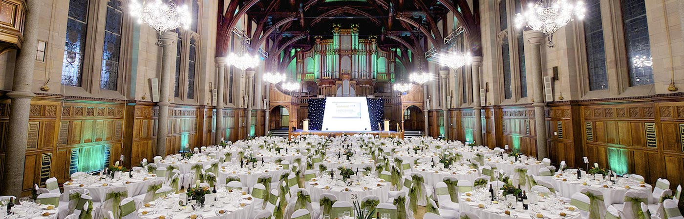 Photo of Whitworth Hall for event