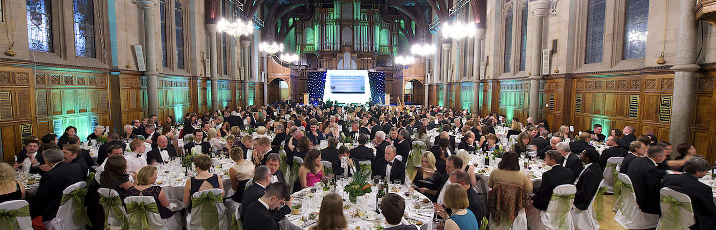 Whitworth Hall Black tie event